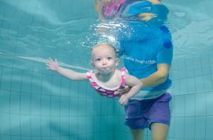 Bubba G at swimming